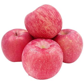 青林小鹿陕西红富士大苹果产地直销90mm12枚