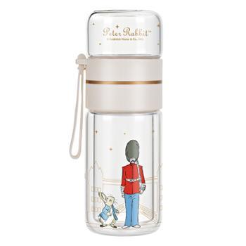 比得兔(Peter Rabbit)茶水分离玻璃杯