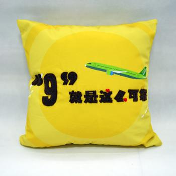 助妇牌刺绣抱枕丝绒、艾草、棉抱枕45cm*45cm