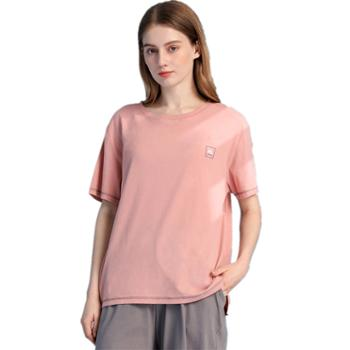 红豆HOdo短袖居家服套装纯棉圆领情侣款