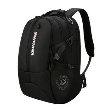 威戈笔记本电脑包运动户外双肩书包15.6英寸黑色SAB86813109048