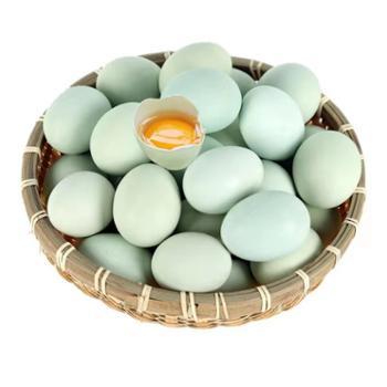 鲜果果 山林散养新鲜绿壳鸡蛋 40枚