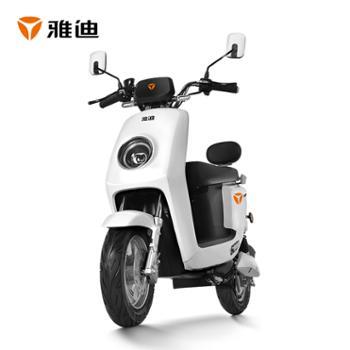 雅迪石墨烯电动车莱羽60V成人代步车电动轻便摩托车
