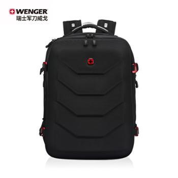 瑞士军刀威戈(Wenger)商务黑色双肩包BC1095.200681